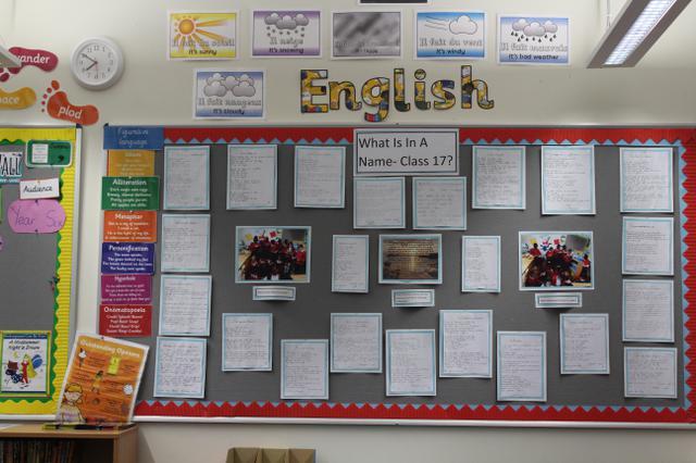 Class 17 Autumn Displays