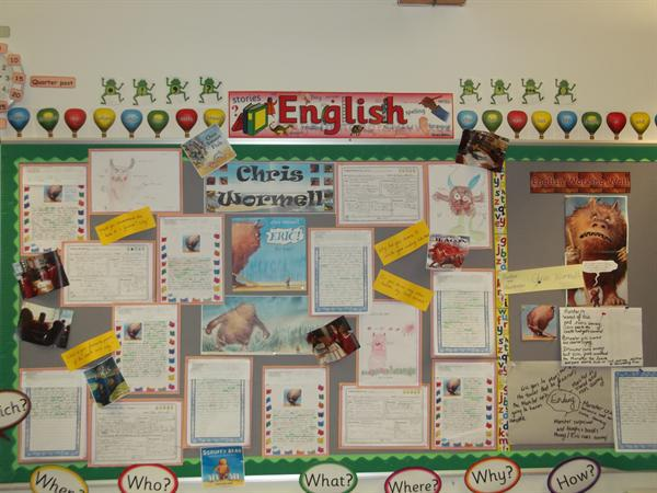 Class 8 Spring Display March 2016