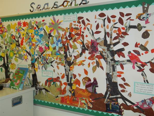 Year One Autumn Display 2016