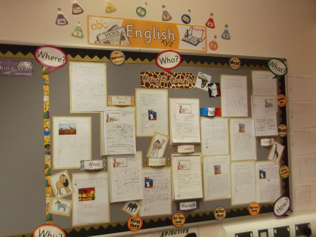 Class 7 English Display February 2017