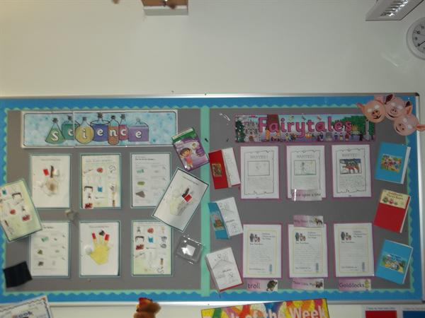 Class 4 Fairy Tales and Science Display March 2016