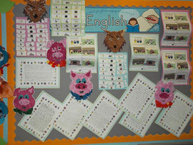 Calss 5 English Display February 2017