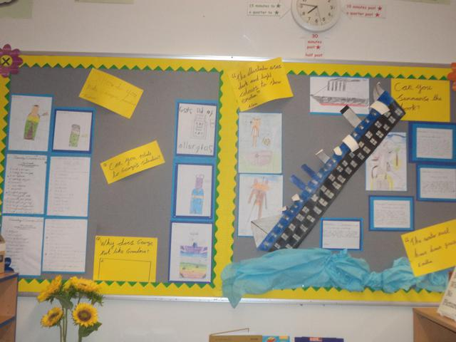Class 10 Spring Display