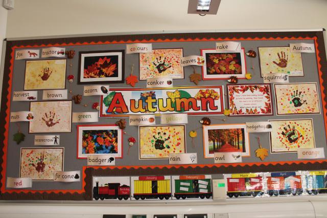 Class 1 Display Autumn