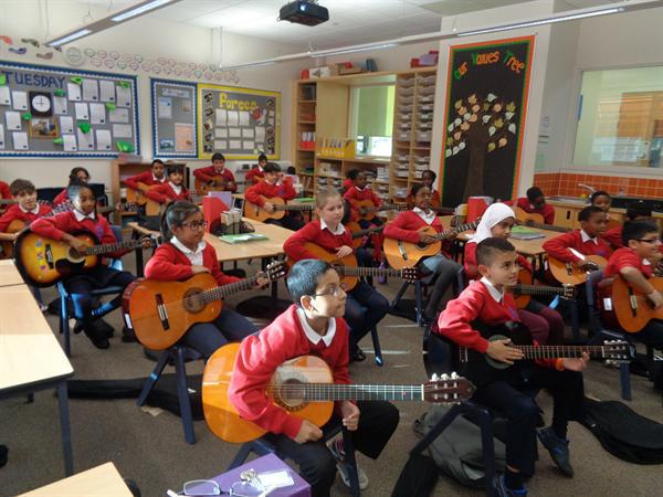Class 18 Guitar Lessons.