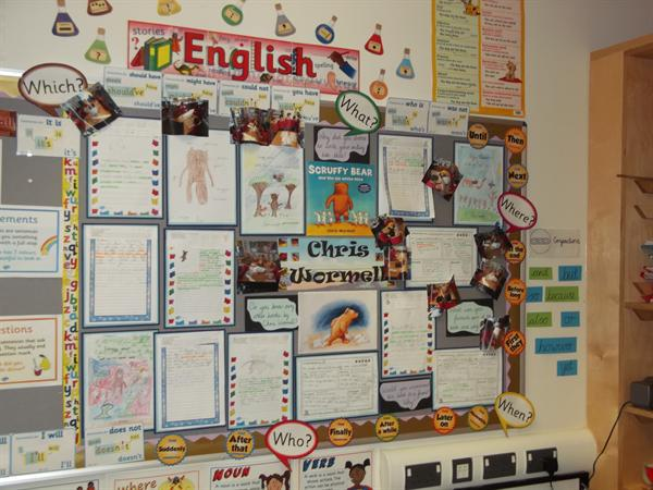 Class 7 English Display March 2016