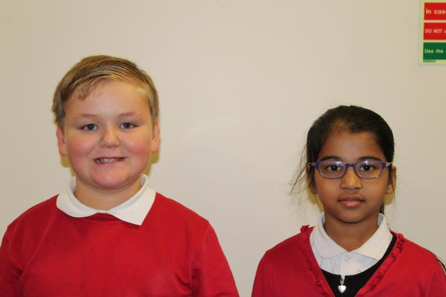 Class 18 School Council Representatives 202