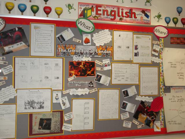 Class 8 English Display February 2017