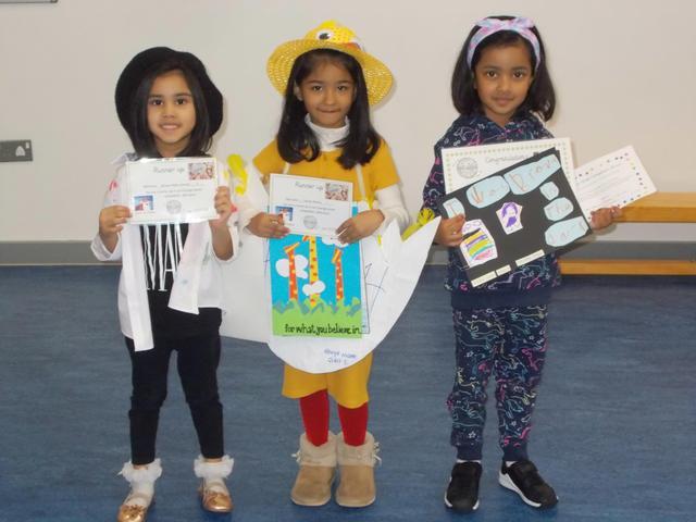 Reception  poster winners