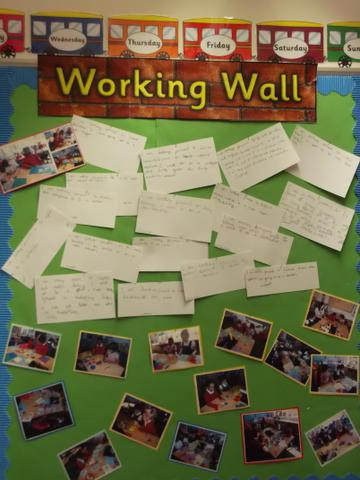 Class 6 Working Wall February 2017