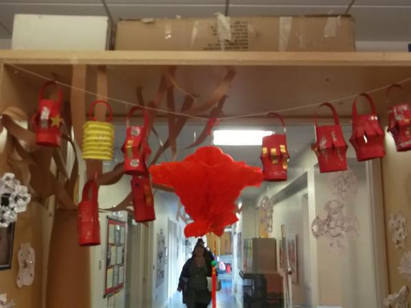Class 1 Chinese New Year Decorations February 2016
