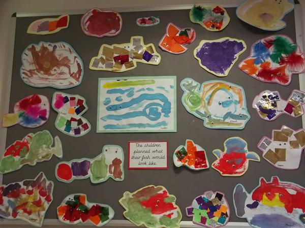 Nursery Chris Wormell Display March 2016