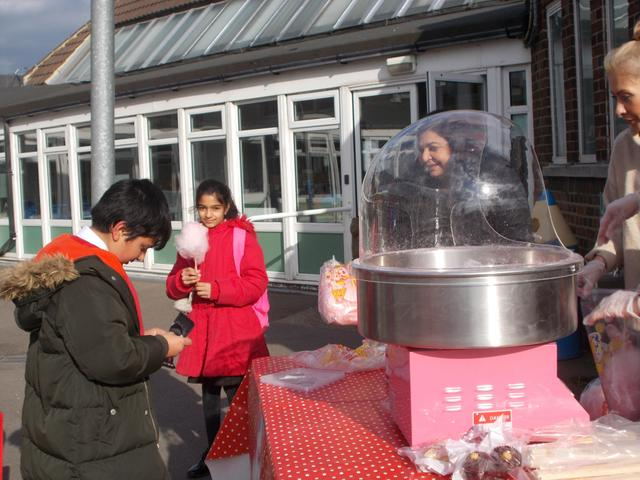 Lots of items to eat included Candy Floss, Popcorn