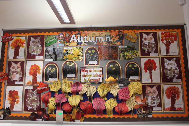 Class 3 Display Autumn