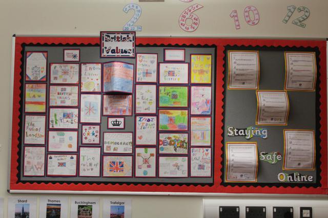 Class 18 Autumn Displays