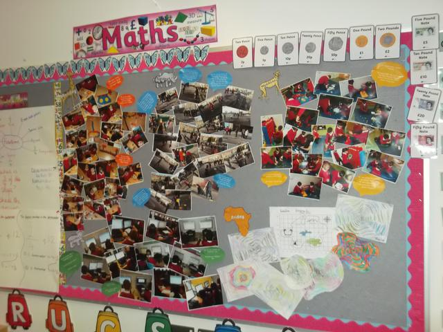 Class 8 Maths Display February 2017