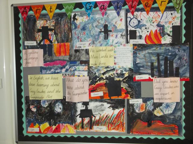 Class 7 Art Display February 2017