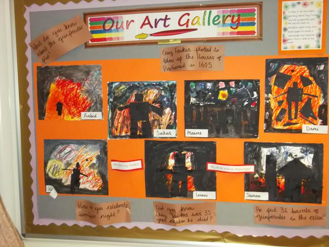 Class 9 Art Display February 2017