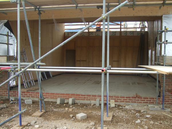 Internal size of a future classroom