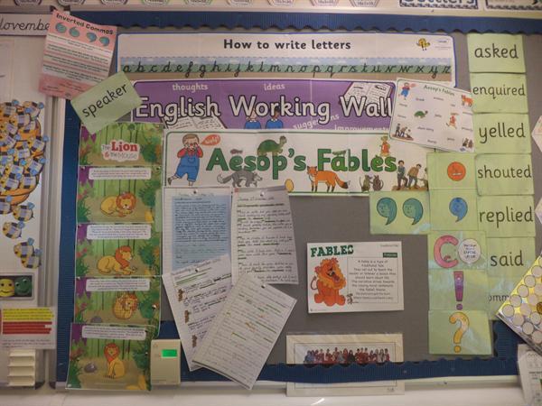 Class 14 Autumn Display 2016