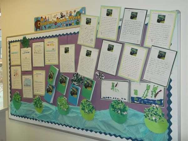 Year One Corridor Display Spring Term 2016