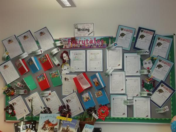 Class 6 Fairy Tales Display March 2016