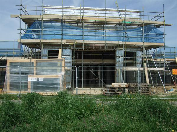 How the new Hall is looking - June 2014