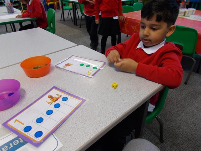 Enjoying a Maths game