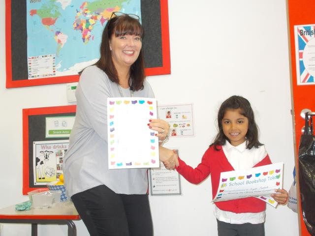 Library Poster Winner for Reception
