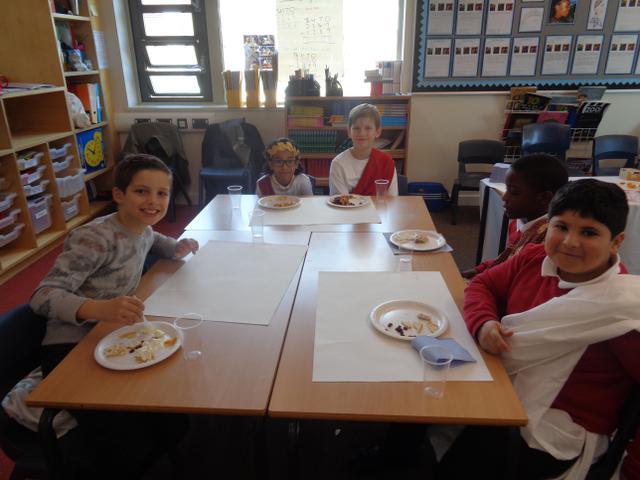 Class 15 Greek Day