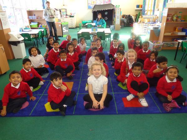 Class 1 Best Attendendence for the Autumn Term