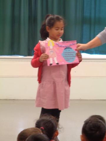 Library Poster Winner for Year 1