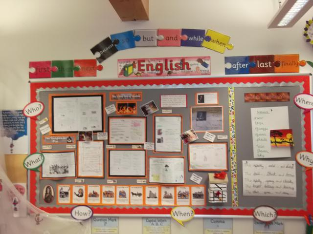 Class 9 English Display February 2017