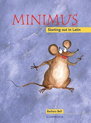 Minimus the mouse - our Latin resource book our children use each lesson