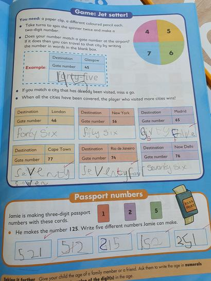 Great maths work!