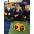Making our own christingle