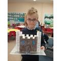 I made a castle.