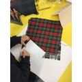 Drawing and designing tartan