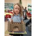 My 3d castle model.