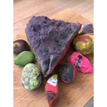 Isabelle colourful stones
