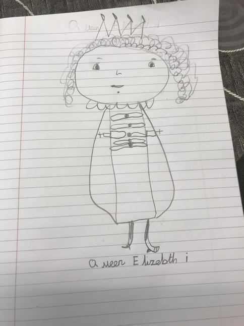 Queen Elizabeth by Charlie