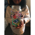 Sai's glass jar