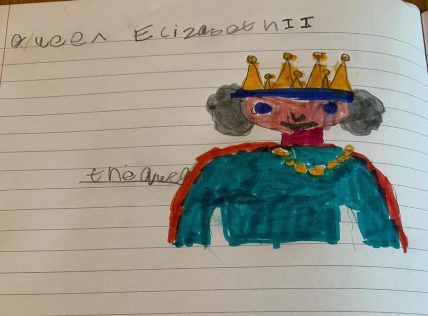 Queen Elizabeth II by Alfie