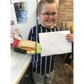 Charlie's sandwich