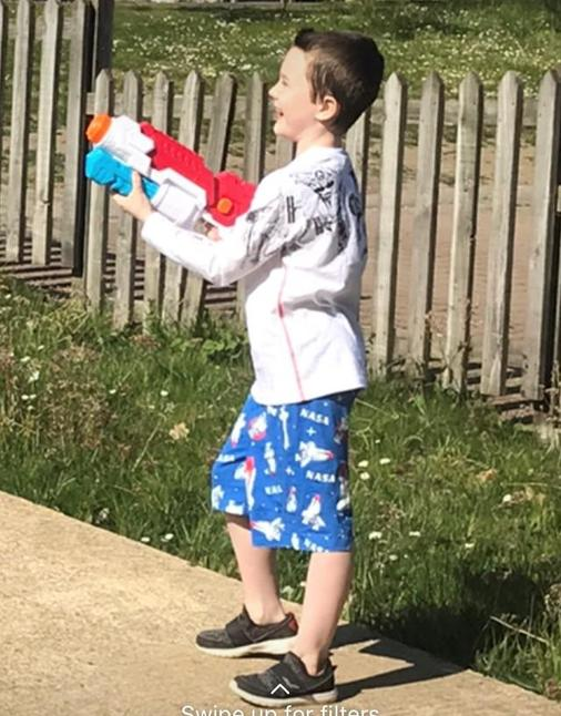Water fights - great!
