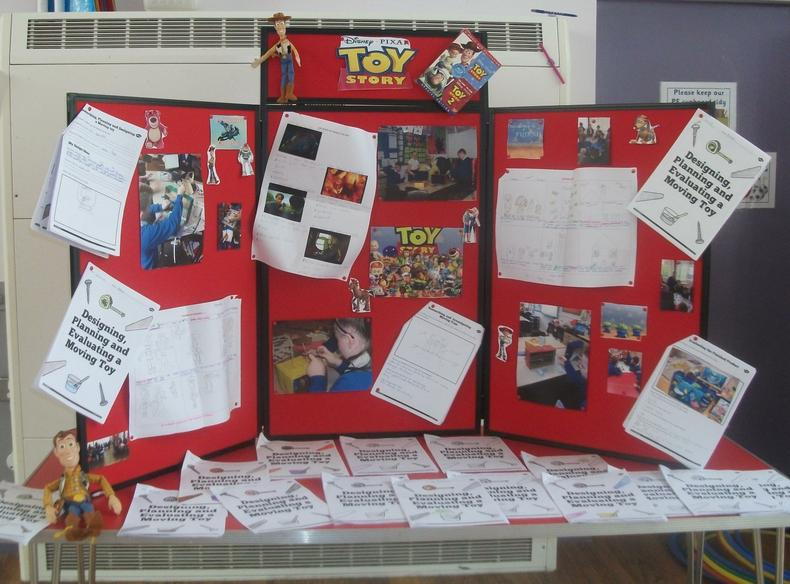 Disney Pixar Movies  - Year 5/6 Display