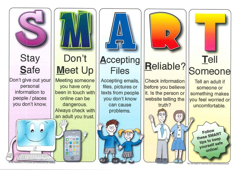 Stay SMART e-safety