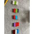 Making equal groups with logo. Genius!