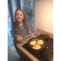 Issy has been busy baking!