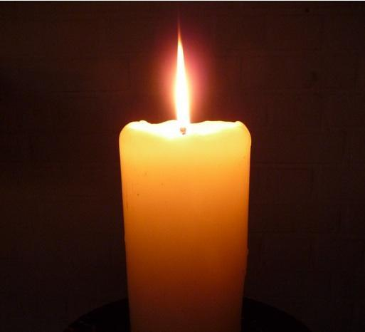 Chrstian candle